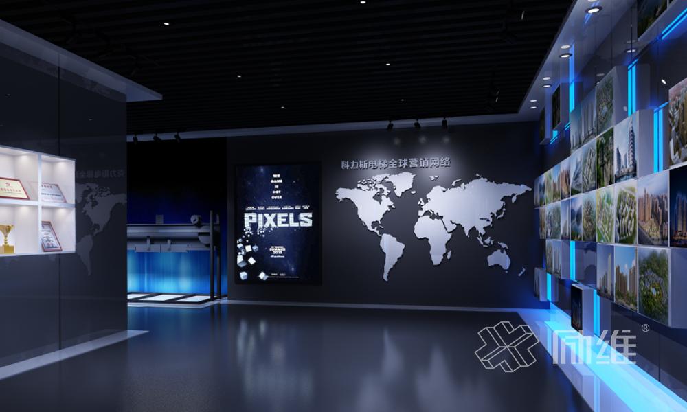 互动企业展厅